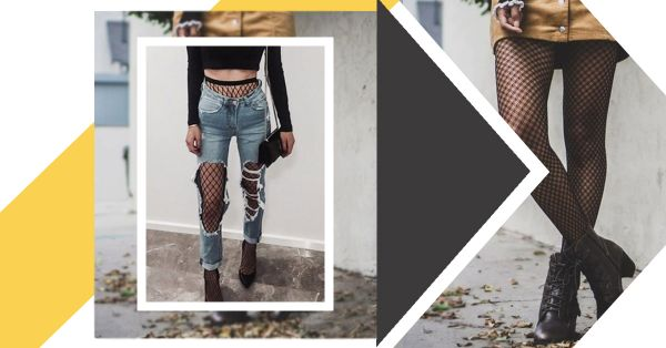 The Fishnet Trend Has Made A Comeback... Would You Dare?