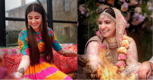 Dear Anushka, Thanks For Showing Us That You Can Look Every Bit Bridal Without Going OTT!