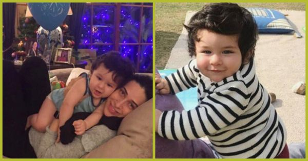 All Of Taimur Ali Khan's Birthday Pictures In One Place Because Isn't He Just The Cutest Kid Ever?