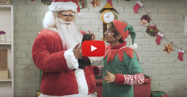 If Santa Had A Smartphone - This Video Is All You Need To Watch Today