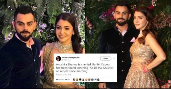 These Hilarious Twitter Reactions To Virushka's Mumbai Reception Will Have You In Splits!
