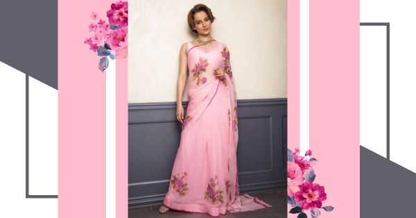 Here's How Kangana Ranaut Manages To Travel In A Saree & You Can Too!