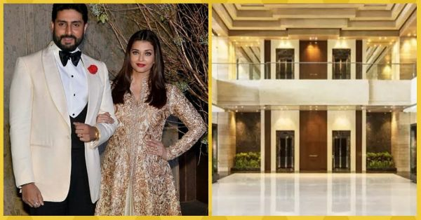 Take A Look At Abhishek & Aishwarya's Swanky 21 Crore Apartment In Mumbai