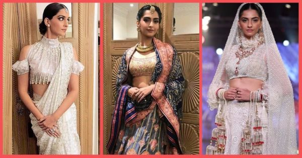 9 Times Sonam Kapoor Looked Like A Goddess In An Abu Jani Sandeep Khosla Creation!