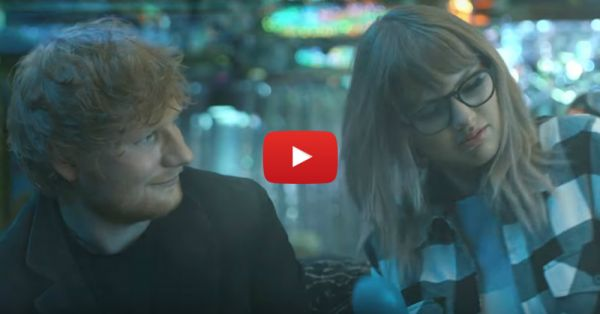 Taylor Swift And Ed Sheeran In This New Music Video Are #FriendshipGoals