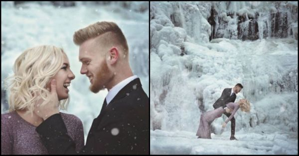 This Couple's Icy Photo Shoot Will Give You All The Chills!