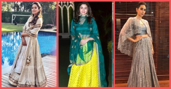 From Glitzy To Glam, Here Are 10 Bollywood Inspired Lehengas To Wear At Your BFF's Shaadi!