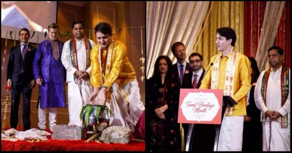 Justin Trudeau Wore A Veshti For Pongal And Our Hearts Are Doing A Lungi Dance!