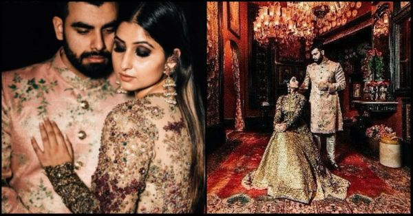 This Couple's Pre-Wedding Shoot At The Sabyasachi Store Is SO Royal!