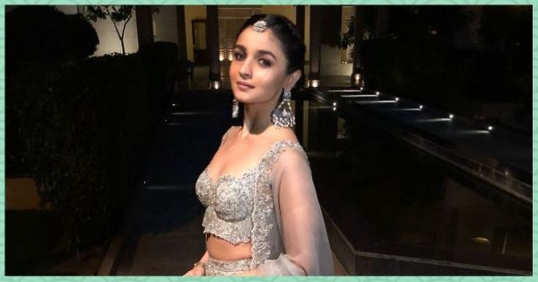 Grey Is The New Black: Alia Bhatt Looks *Stunning* At Her Bestie's Wedding!