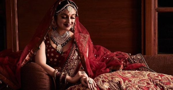 Divya Khosla Dressed Up As A Bride For The Second Time & We Can't Get Over The Pictures!