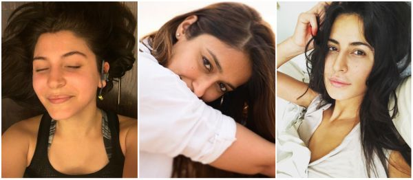 15 Bollywood Actresses Whose No Makeup Pictures Gave Us Self-Love Goals!