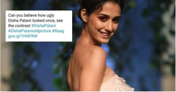 A News Channel Called Disha Patani's Childhood Photo 'Ugly' & Boy Did She Give It Back!