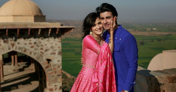 All The Pictures From Gautam & Pankhuri's Vibrant Mehendi Ceremony!