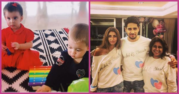 All The Adorable Pictures You Need To See From Yash And Roohi's First Birthday Party!
