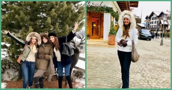 Sussanne Khan's #SisterTrip To Gstaad Is Showing Us What Luxury Travel Is All About