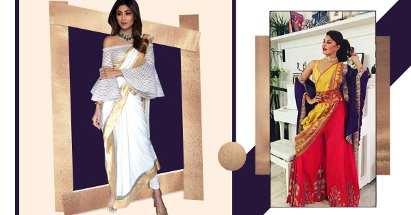 When Pants Meet Dupatta, Expect Fireworks In The Form Of Saree 2.0
