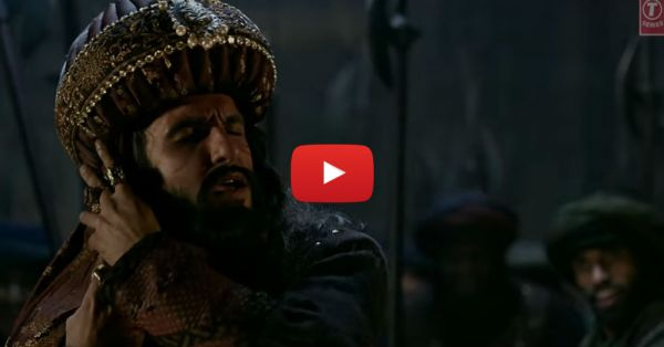 This Behind-The-Scenes Video Of Ranveer Singh's Khalibali Is Just Out