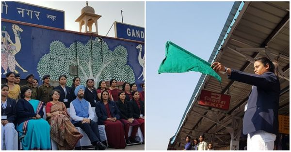 An All-Women Crew Is Set To Take Over The Train Station In Jaipur
