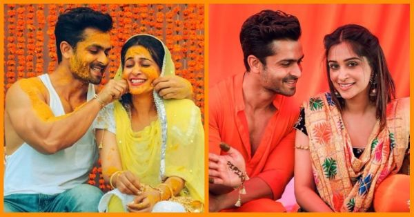 Pictures From Dipika & Shoaib's Mehendi, Haldi And Sangeet Ceremonies!