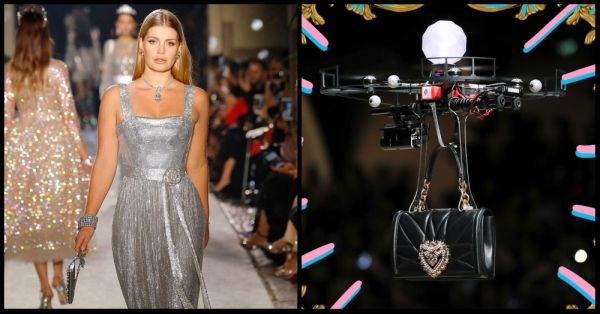 Drones, Diana's Niece And Everything Else We Saw At The D&G Show!