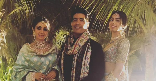 Manish Malhotra's Gesture For Sridevi Will Be Treasured By Janhvi And Khushi Forever!