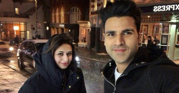 Divyanka & Vivek Are In London & Their Reaction To Snow Is Hilarious!