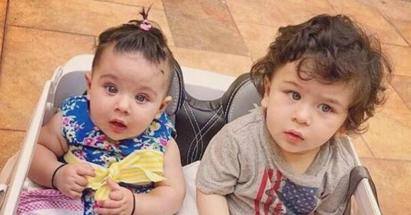 Taimur Ali Khan On A Playdate With Cousin Inaaya Is #SummerDay Goals!