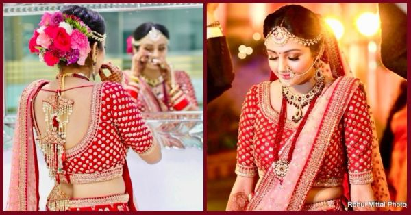 A Sabyasachi Style Lehenga For Half The Price? This Bride Got It & We Love It!