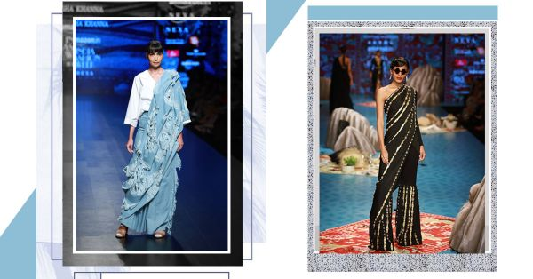 Uncomplicate It: 7 Offbeat But Easy Saree Trends We Can't Thank AIFW Enough For!