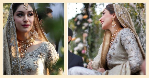 The Pakistani Bride Who Wore Sabya For Her Mehendi Looked Even More Stunning At Her Nikah!
