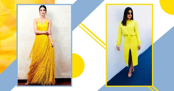 Yellow... Is It Me You're Looking For? Bollywood Shows Us How To Wear The Risky Colour!