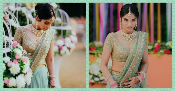 Pretty In Pastels: These 7 Brides And Their Gorgeous Lehengas Are Giving Us Bridal Goals!
