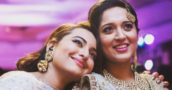 Sonakshi Sinha Posted A Picture With Her Bhabhi & It's All About Their Love... For CAKE!