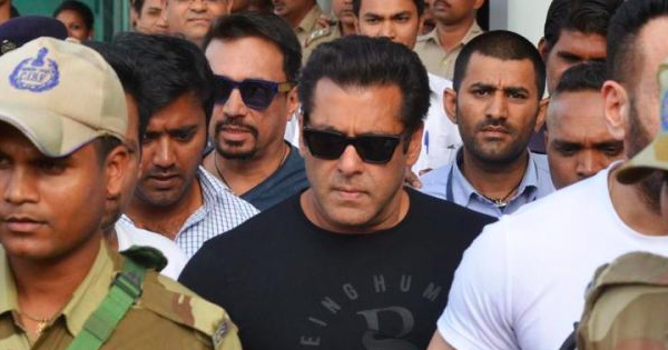Salman Khan Goes To Jail In Blackbuck Case, To Sleep On Floor Tonight