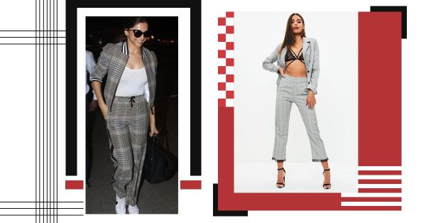 Hot Deal Alert! Smart Plaid Sets Like Deepika's To Wear On All Your Travels