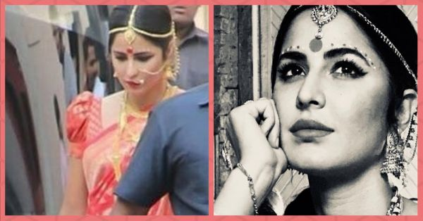 Khub Bhalo Lagche: Katrina Kaif Dressed As A Bengali Bride & We LOVE It!