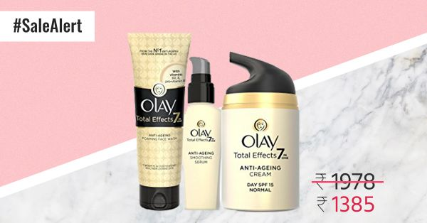 Sale Alert! Grab The Entire Olay Total Effects Range For Only Rs 1,385!