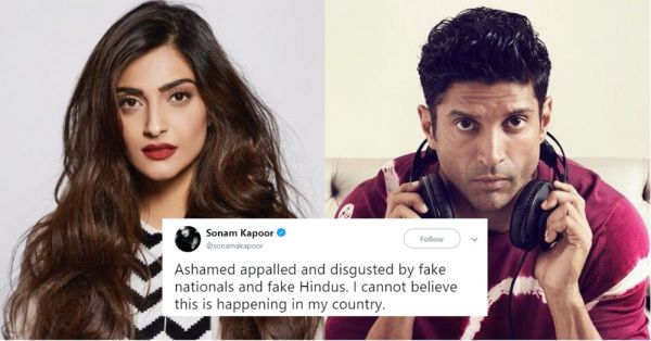 #JusticeForAsifa: Sonam Kapoor, Farhan Akhtar And Others Speak Up Against The Government