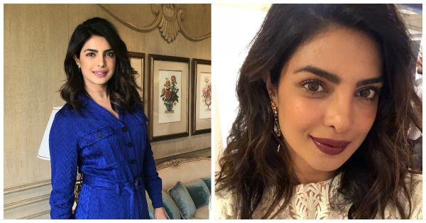 Priyanka Chopra Gives Us Notes On How To Choose Your Lipstick According To Your Outfit!