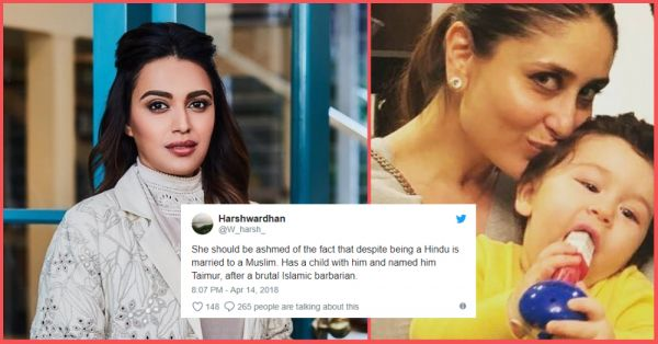 Swara Bhasker Defends Kareena & Taimur Against Trolls, Proves She's A Great Friend To The Family