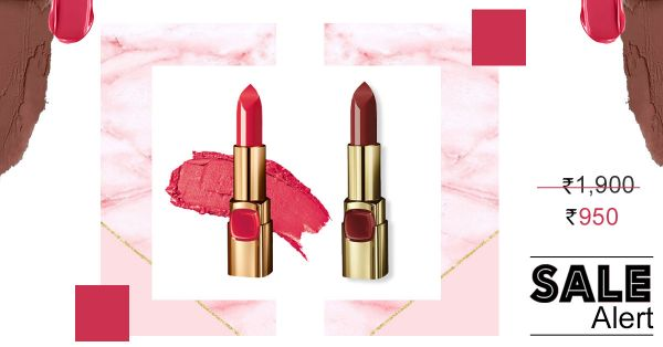 Pucker Up Baby! Here Are Two STUNNING L'Oreal Lipsticks For The Price Of ONE!