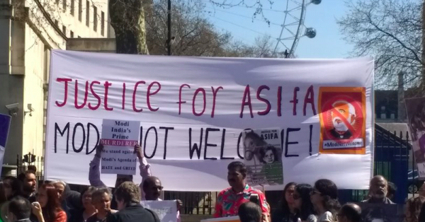 Narendra Modi Faces Angry Protesters In London