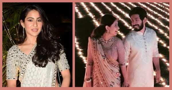 Sara Ali Khan & Karan Johar Shaking A Leg At Sandeep Khosla's Niece's Wedding Is Totes Lit!