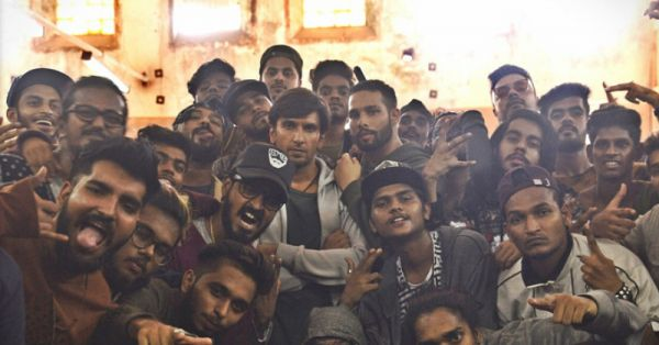 Ranveer Singh Rapping At The Shoot-End Party Of 'Gully Boy' Is Every Delhi Boy Ever!