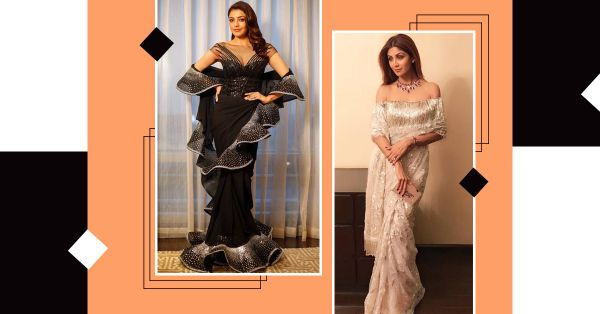 Pallu Latke: Take The Slippery Slope 'Coz The Off-Shoulder Pallu Is Finally A Thing