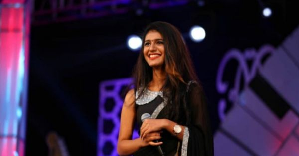 Priya Prakash Varrier Bags Her First Award Even BEFORE Her Debut Movie Release!