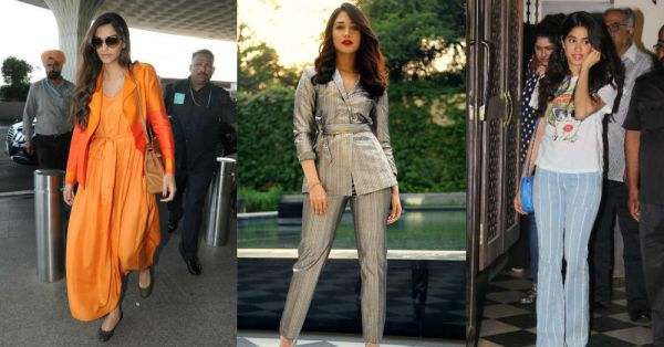 Who Wore What This Weekend: Sonam's Sunset Hues, Janhvi's Stripes And More!