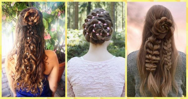These Braided Rose Hairstyles Are Next Level Gorgeous!