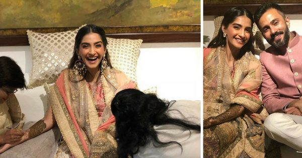 Browse Through Our Favourite Beauty Looks From Sonam's Mehendi